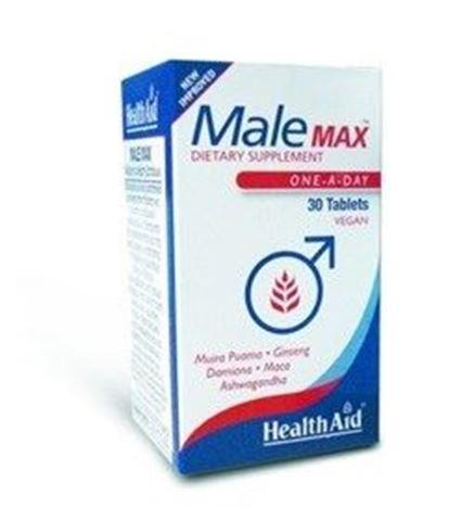 Health Aid Male Max vegetarian 30 Ταμπλέτες
