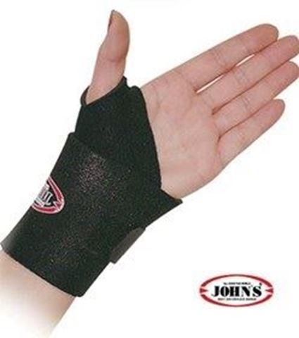 John's Δέστρα Καρπού Wrap Around Black Line S-XL 120123