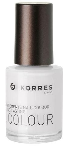 Korres  Βερνίκι Νυχιών No 0 White 10 ml