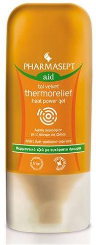 Pharmasept Tol Velvet Thermorelief Heat Power Gel 100ml