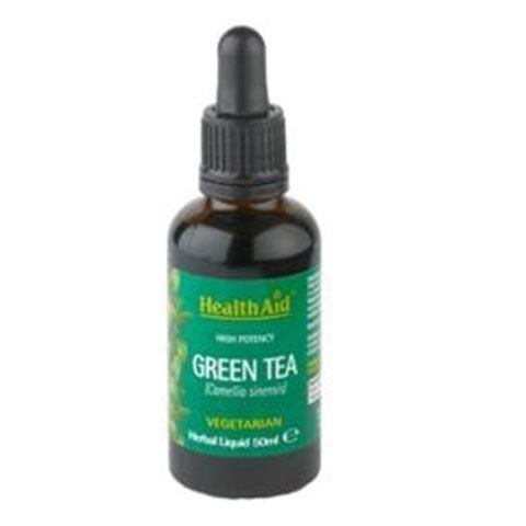 Health Aid Green Tea 50ml Σταγόνες