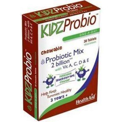 Health Aid KIDZ Probio 30 Tabs - Μασώμενα