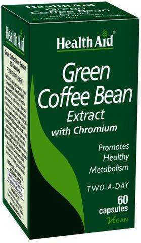 Health Aid Εκχύλισμα Πράσινου Καφέ 60 κάψουλες