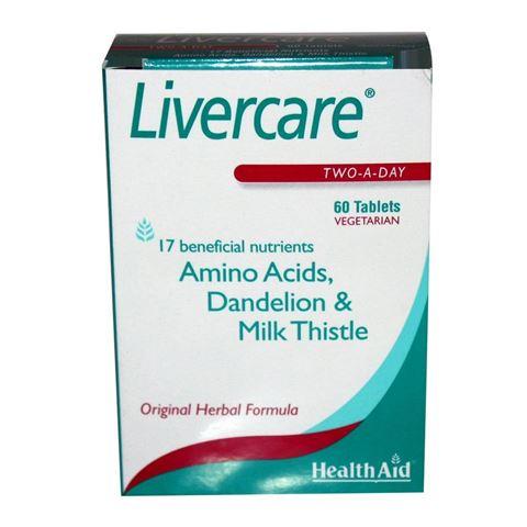 Heath Aid Liver Care 60 Ταμπλέτες