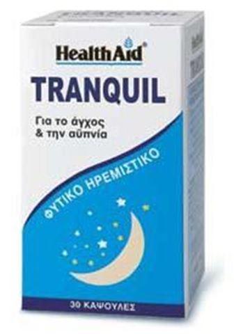 Health Aid Tranquil (Magnolia- Valerian & St John's Wort Complex) 30 Κάψουλες