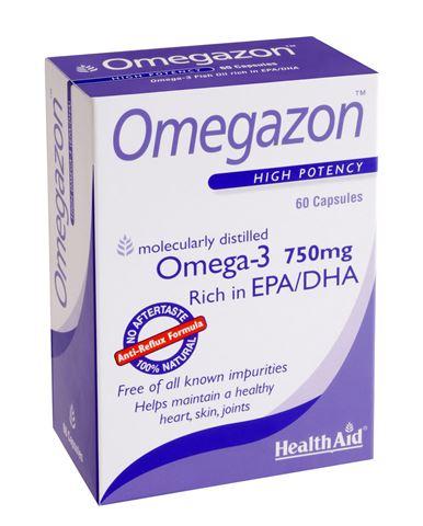 Health Aid Omegazon Omega-3 750MG 60 Κάψουλες
