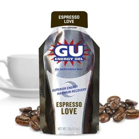 Ενεργειακό gel GU - Γεύση Εσπρέσο (Espresso Love) - καφεΐνη 40mg (διπλή δόση)  32gr
