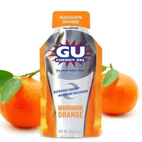 Ενεργειακό gel GU - Γεύση Μανταρίνι Πορτοκάλι (Mandarin Orange) - καφεΐνη 20mg