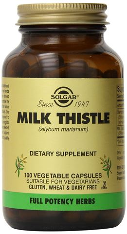 Solgar Milk Thistle 100 Κάψουλες