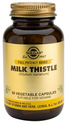 Solgar Milk Thistle 50 Κάψουλες