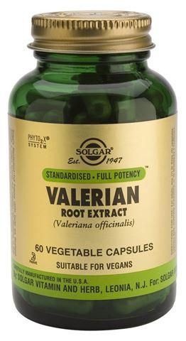 Solgar Valerian Root Extract 60 Φυτικές Κάψουλες