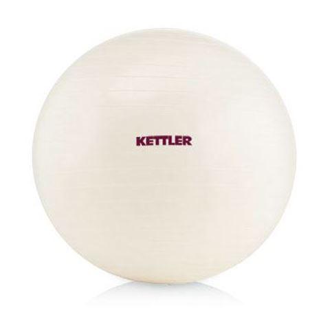 Kettler Μπάλα γυμναστικής BASIC 65 cm, Λευκή, 10-400-202