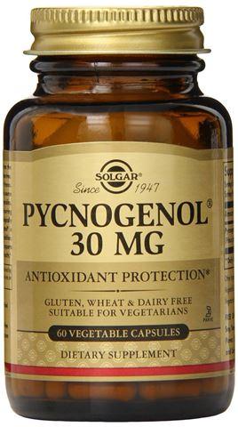 Solgar Pycnogenol 30mg, 60 Φυτικές Κάψουλες