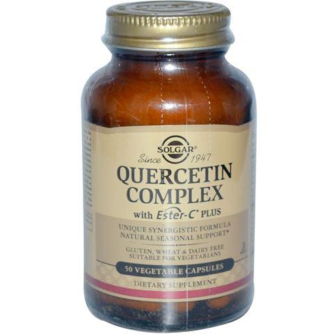 Solgar Quercetin Complex 50 Φυτικές Κάψουλες