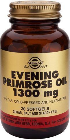Solgar Evening Primrose Oil 1300mg 30 Sofgels
