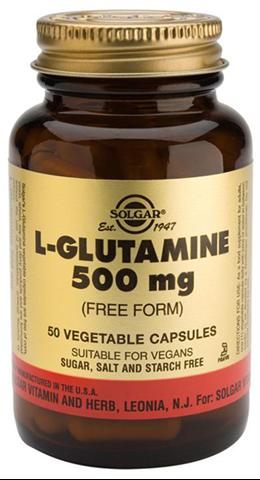Solgar L-Glutamine 500mg, 50 Φυτικές Κάψουλες