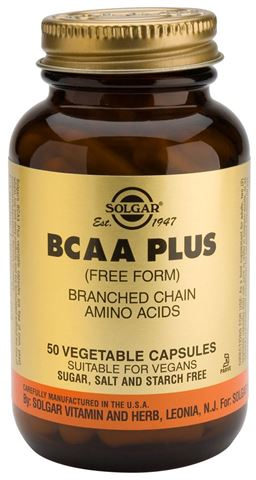 Solgar BCAA 50 Φυτικές Κάψουλες
