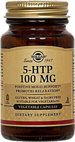 Solgar 5-HTP 100mg, 90 Φυτικές Κάψουλες