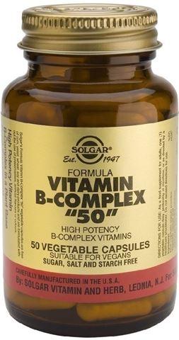 """Solgar Formula B-Complex """"50"""" 50 Φυτικές Κάψουλες"""