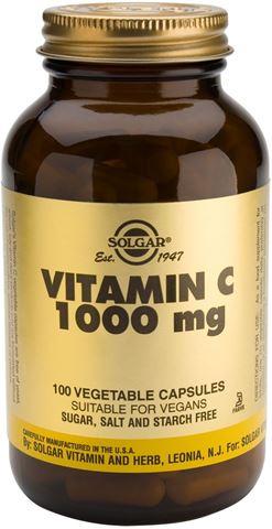 Solgar Vitamin C 1000mg 100 Φυτικές Κάψουλες