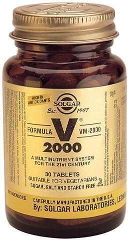 Solgar Formula VM 2000 30 Ταμπλέτες