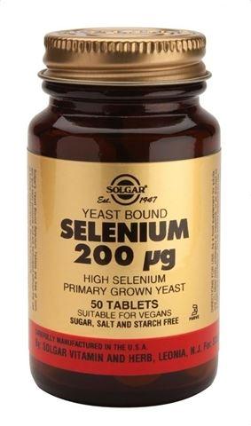 Solgar Selenium 200μg 50 Ταμπλέτες