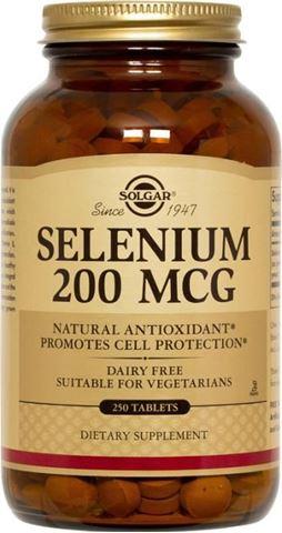 Solgar Selenium 200μg 250 Ταμπλέτες