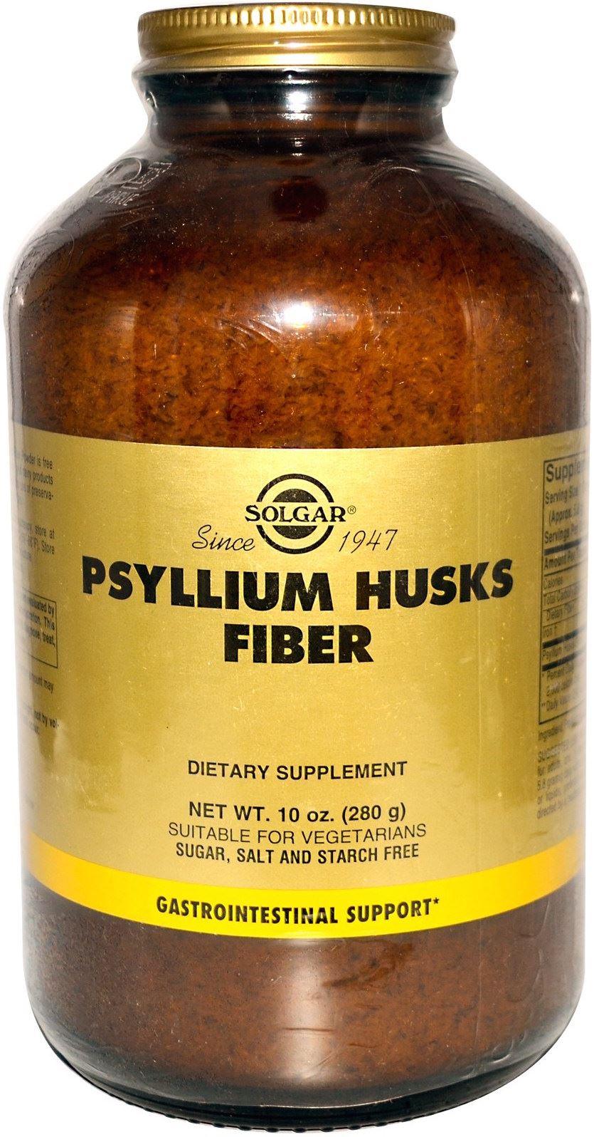 Solgar Psyllium Husks Fibre Powder 280gr Wefit