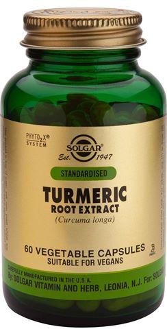 Solgar Turmeric Root Extract 60 Φυτικές Κάψουλες