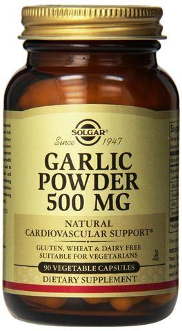 Solgar Garlic Powder 500mg 90 Μαλακές Κάψουλες