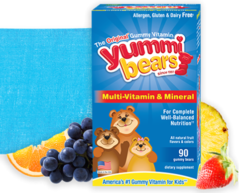Hero Nutritionals Yummie Bears Multi-Vitamin + Mineral 90 Ζελεδάκια