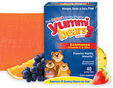 Hero Nutritionals Yummie Bears Echinacea 40 Ζελεδάκια