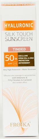 Froika Hyaluronic Silk Touch Sunscreen Με Χρώμα, SPF50+, 40ml