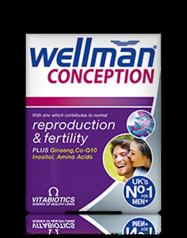 Vitabiotics Wellman Conception 30 Ταμπλέτες