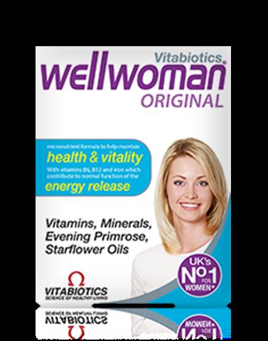 Vitabiotics Wellwoman Original 30 Ταμπλέτες