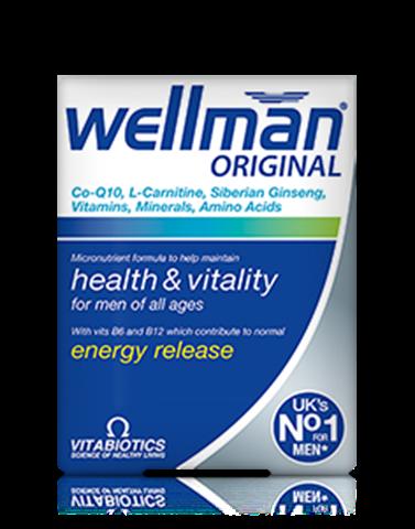 Vitabiotics Wellman Original 30 Ταμπλέτες