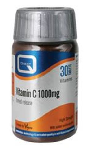 Quest Vitamin C 1000mg 30 Ταμπλέτες
