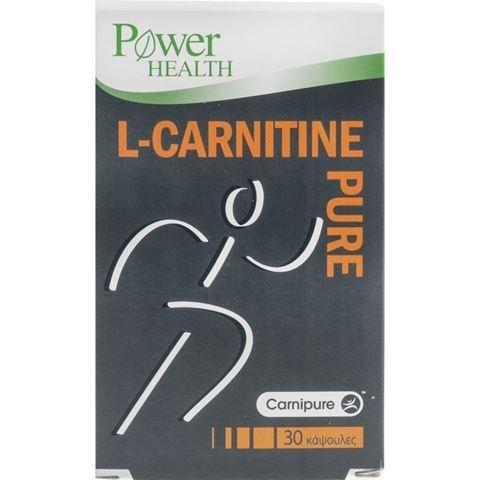 Power Health L-Carnitine Pure 30 Κάψουλες