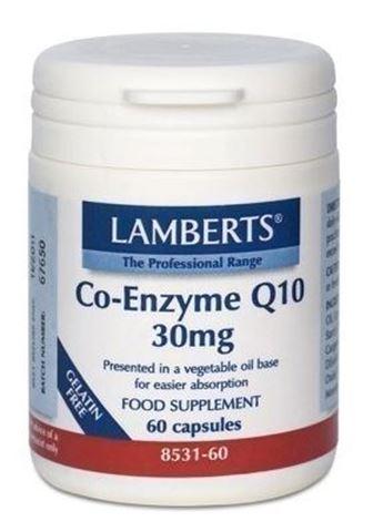 Lamberts Co-Enzyme Q10 30mg, 60 Κάψουλες