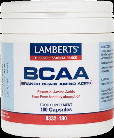 Lamberts BCAA-Branch Chain Amino Acids 180 Κάψουλες