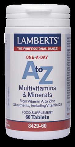 Lamberts A-Z Multi 60 Ταμπλέτες