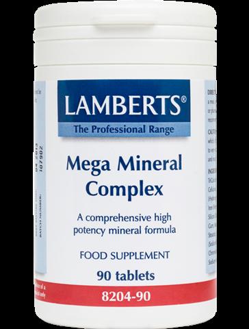 Lamberts Mega Mineral Complex 90 Ταμπλέτες
