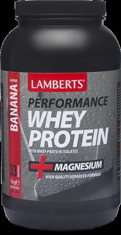 Lamberts Whey Protein Γεύση Μπανάνα 1kg