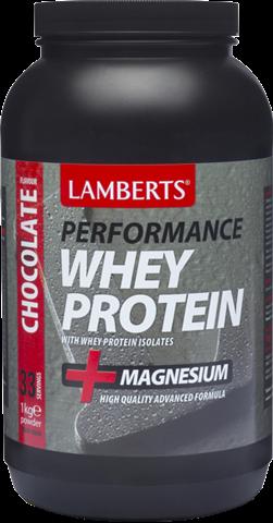 Lamberts Whey Protein Γεύση Σοκολάτα 1kg
