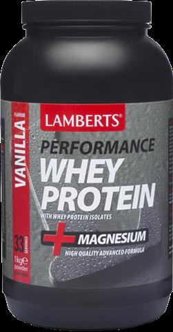 Lamberts Whey Protein Γεύση Βανίλια 1kg