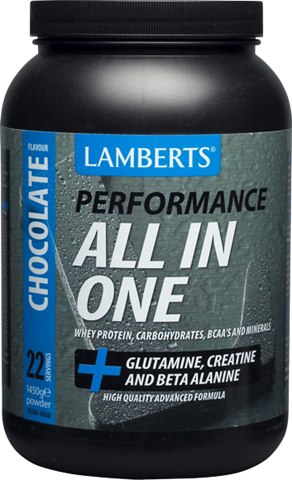 Lamberts ALL-IN-ONE Sports Shake Σοκολάτα 1450gr