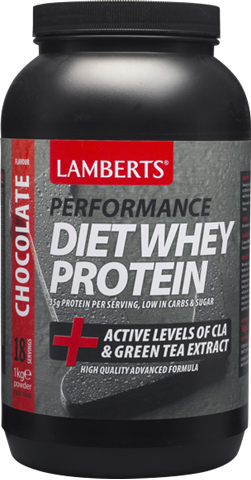 Lamberts Diet Whey Protein Σοκολάτα 1kg