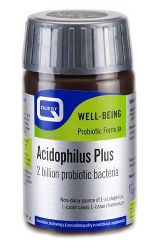 Quest Acidophilus Plus 60 Κάψουλες