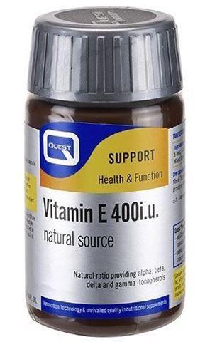 Quest Vitamin E 400 IU 60 Κάψουλες