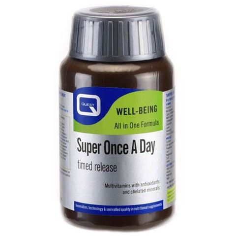 Quest Super Once A Day Timed Release 30 Ταμπλέτες